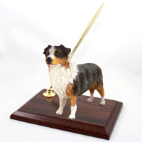 Australian Shepherd Blue w/Docked Tail Pen Set