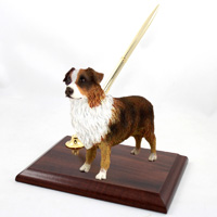 Australian Shepherd Brown w/Docked Tail Pen Set