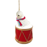 Komondor Drum Ornament