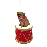 Norfolk Terrier Drum Ornament
