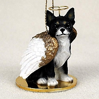 Chihuahua Black & White Pet Angel Ornament
