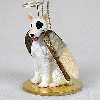 Bull Terrier Pet Angel Ornament