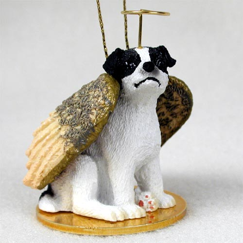 - Jack Russell Terrier Black & White W/Smooth Coat Pet Angel Ornament
