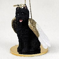 Bouvier des Flandres Pet Angel Ornament