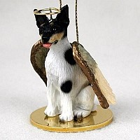 Rat Terrier Pet Angel Ornament