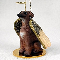 Italian Greyhound Pet Angel Ornament