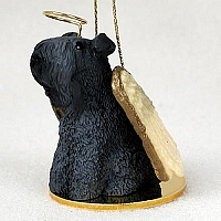 Kerry Blue Terrier Pet Angel Ornament