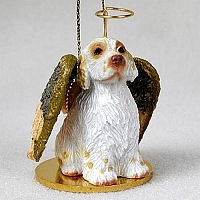 Clumber Spaniel Pet Angel Ornament