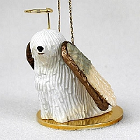 Komondor Pet Angel Ornament