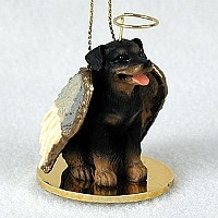 Rottweiler Pet Angel Ornament