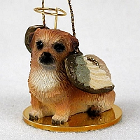 Tibetan Spaniel Pet Angel Ornament