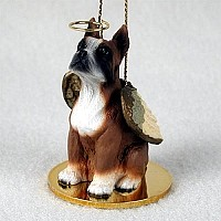 Boxer Pet Angel Ornament