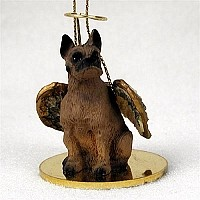 Boxer Tawny Pet Angel Ornament