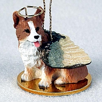 Welsh Corgi Pembroke Pet Angel Ornament