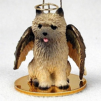 Cairn Terrier Red Pet Angel Ornament