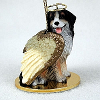 Bernese Mountain Dog Pet Angel Ornament