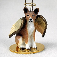 Basenji Pet Angel Ornament