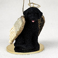 Portuguese Water Dog Pet Angel Ornament
