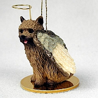 Norwich Terrier Pet Angel Ornament