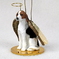 American Fox Hound Pet Angel Ornament