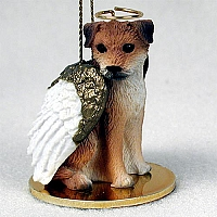 Border Terrier Pet Angel Ornament