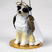 Australian Shepherd Blue Pet Angel Ornament