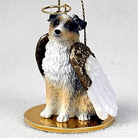Australian Shepherd Blue w/Docked Tail Pet Angel Ornament