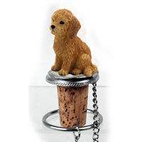 Goldendoodle Bottle Stopper