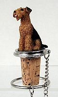 Airedale Bottle Stopper