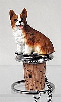 Welsh Corgi Pembroke Bottle Stopper