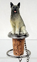 Norwegian Elkhound Bottle Stopper