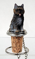 Cairn Terrier Brindle Bottle Stopper