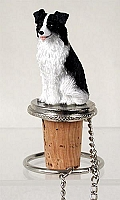 Border Collie Bottle Stopper