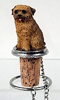 Norfolk Terrier Bottle Stopper