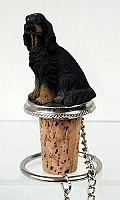 Gordon Setter Bottle Stopper