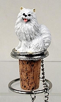 American Eskimo Miniature Bottle Stopper