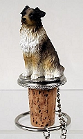 Australian Shepherd Brown Bottle Stopper