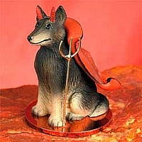 Belgian Tervuren Devilish Pet Figurine