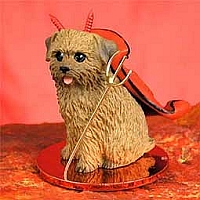 Norfolk Terrier Devilish Pet Figurine