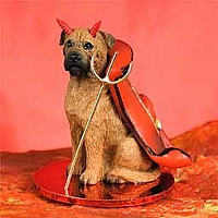 Bullmastiff Devilish Pet Figurine