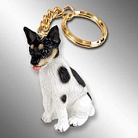 Rat Terrier Key Chain