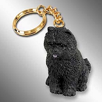 Chow Black Key Chain