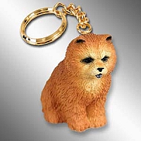 Chow Red Key Chain