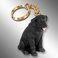 Labrador Retriever Black Key Chain