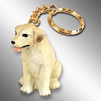 Labrador Retriever Yellow Key Chain