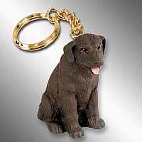 Labrador Retriever Chocolate Key Chain