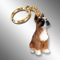 Boxer Key Chain