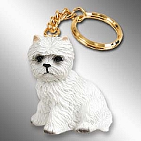 West Highland Terrier Key Chain