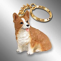 Welsh Corgi Pembroke Key Chain