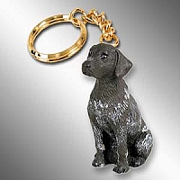 German Short Haired Pointer Key Chain